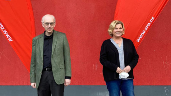 von links: Robert Schmitz und Regina Hogrefe