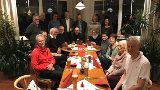 Weihnachtsstammtisch des SPD-Ortsvereins Bothfeld