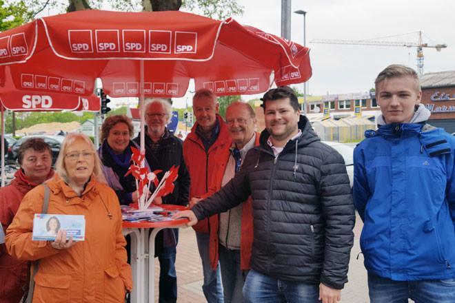 Infostand des SPD-Ortsvereins Bothfeld